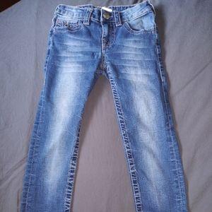 Girls True religion skinny jeans sz 8